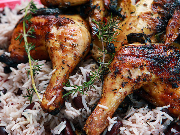 Chicken rice - Marlaina's Kitchen Seasoning Recipe
